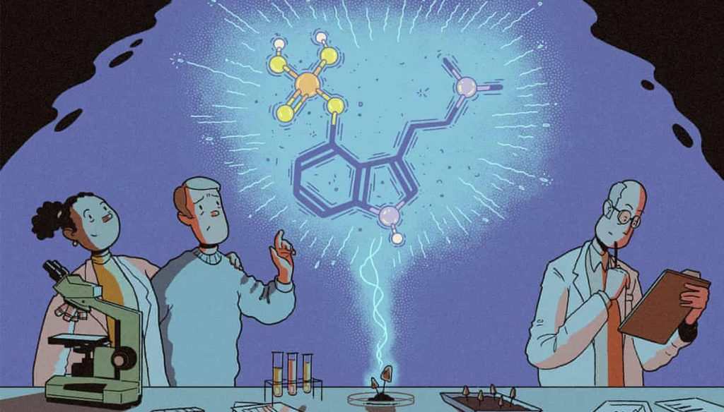 Psychedelic drugs to treat depression