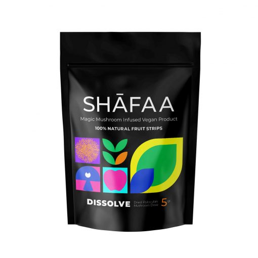 Dissolve Macrodose Magic Mushroom Vegan Fruit Strips - 5g