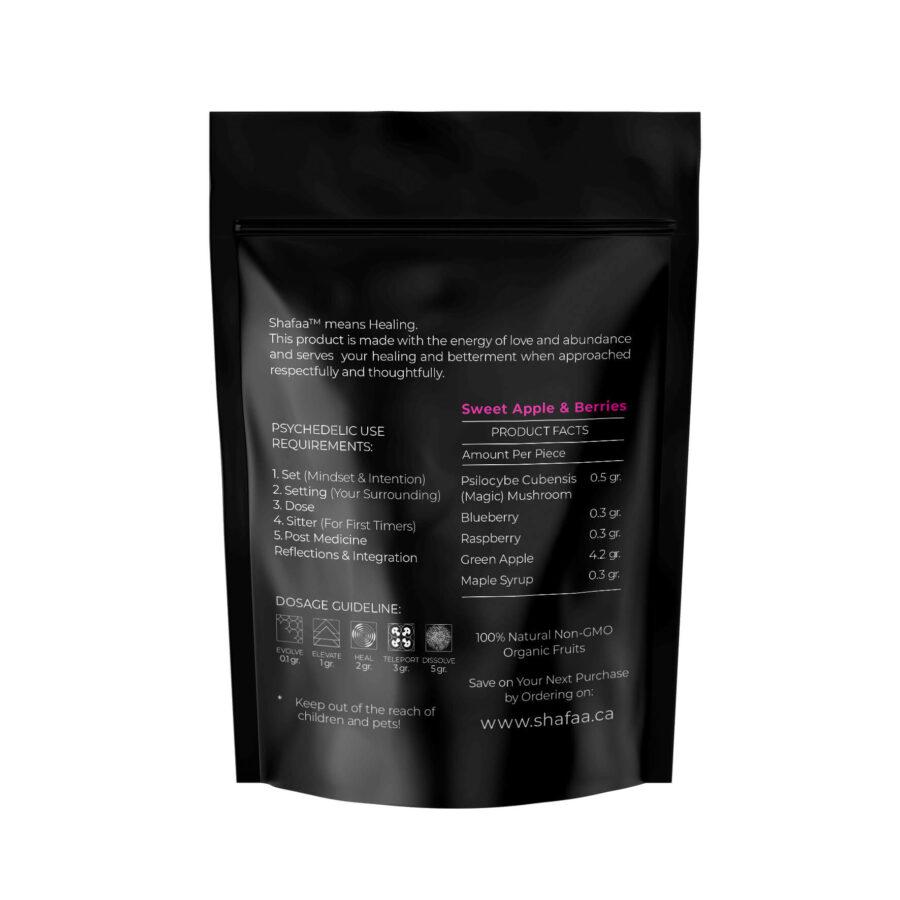 Dissolve Macrodose Magic Mushroom Vegan Fruit Strips – 5g